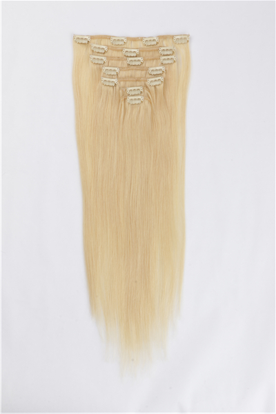 Natural Hair Clip in Extensions JF016