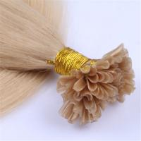 china keratin fusion u tip hair extension factory QM058
