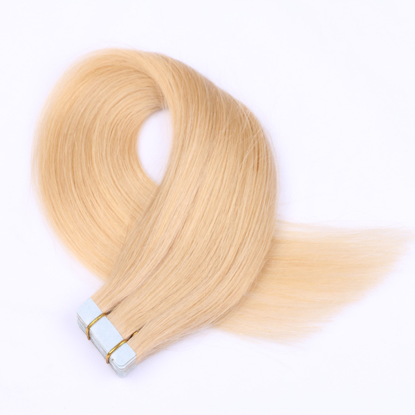 100% virgin human hair best hair extension tape JF030