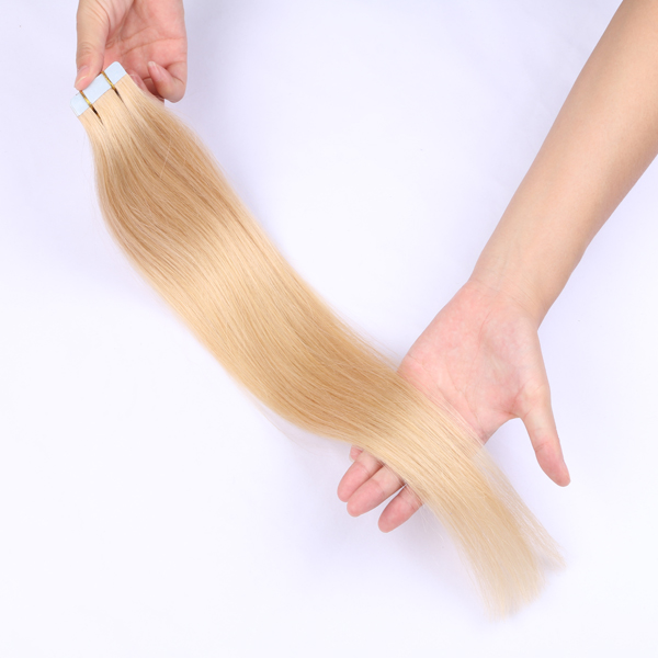 Belle hair extensions Tape in human hair extensions main market in Europe USA and Australia JF0218