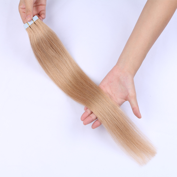 20 inch tape in hair extnesions cutting line tidy and beautiful 100g per pack JF0194