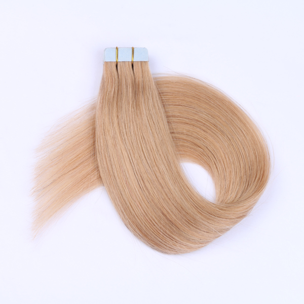 Remy Human Hair Tape in Extensions JF040
