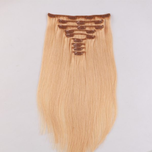 Real human hair extensions clip in boutique hair extensions JF281