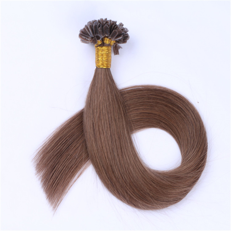 China factory price double drawn remy u tip hair extension hair suppliers QM055