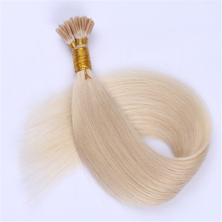 China light color i tip hair extensions factory QM049