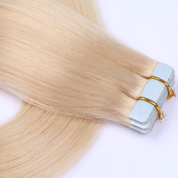Blonde Tape Extensions JF097