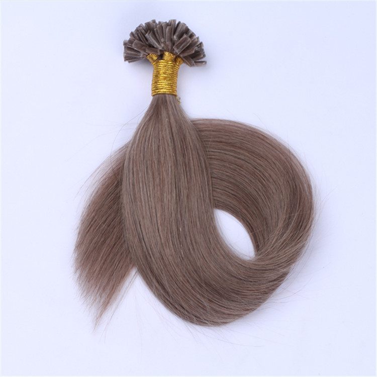 wholesale customized double drawn u tip hair extension manufacturers QM056