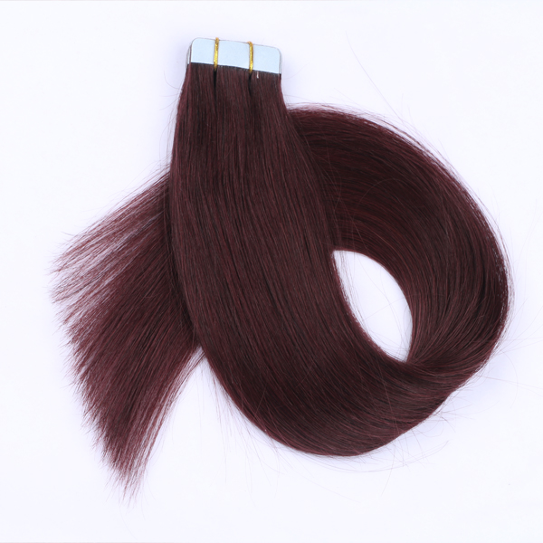 100 human hair tape in extensions roblox hair extensions quality factory JF0259