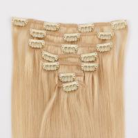 Clip in Remy hair extensions with good quality hair hot sell in USA Europe JF 284