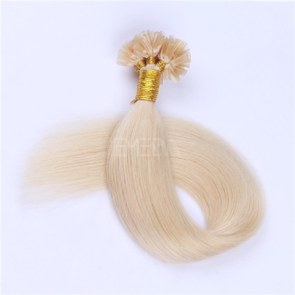 Keratin bond hair extensions U tip LJ130