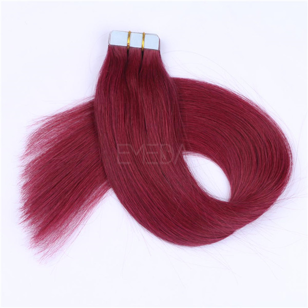 Human Remy Hair Extensions Tape in LJ062
