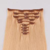 wholesale18 hair extensions clip in human hair extensions cheap hot sell in canada JF293