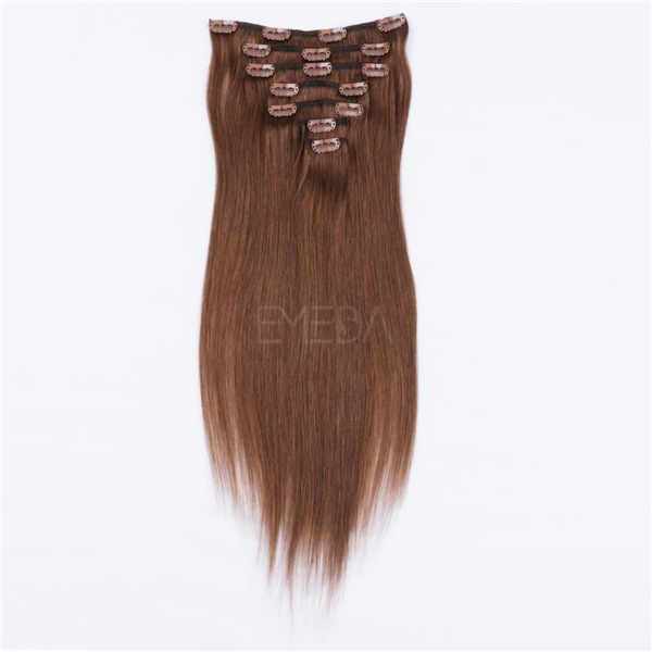 Long hair clip in extensions LJ008