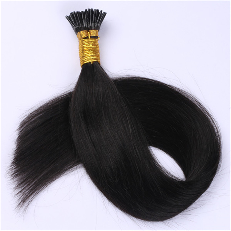 China wholesale human hair i tip human hair extensions suppliers QM041