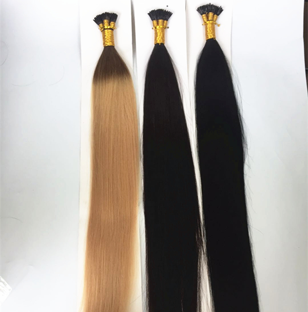 russian I Tip hair extensions wholesale QM216