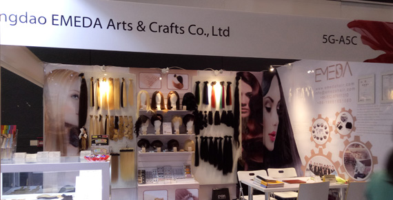 Emeda Hair Extensions perfect debut in 21th Cosmoprof Asia Hongkong