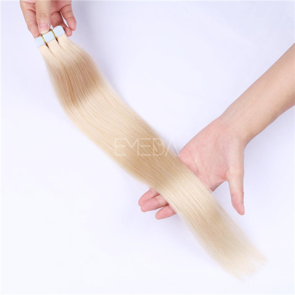 Tape In real hair extensions LJ077