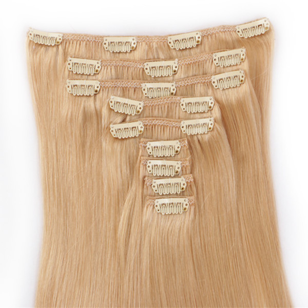 Quality Best Real Hair Clip In Extensions 9 Pieces 20 Inch 140grams