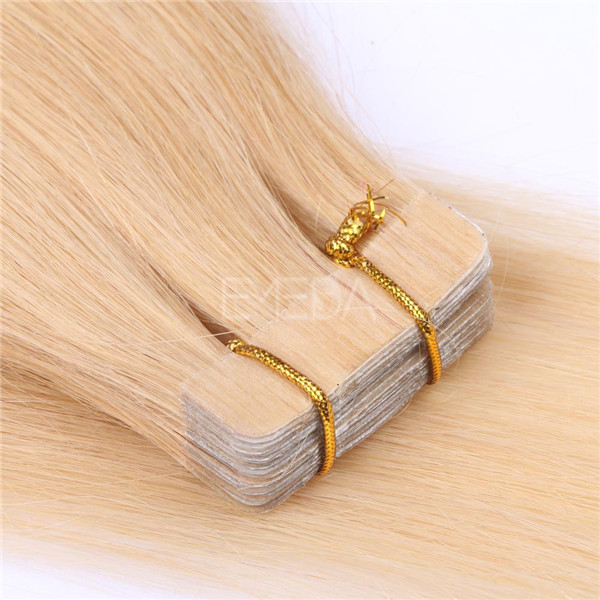 Tape In Blonde Hair Extensions LJ112