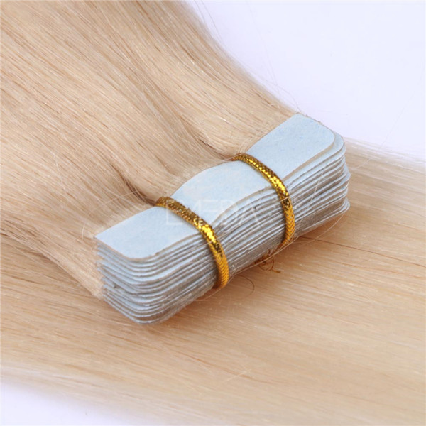 Human Tape Hair Extensions LJ040
