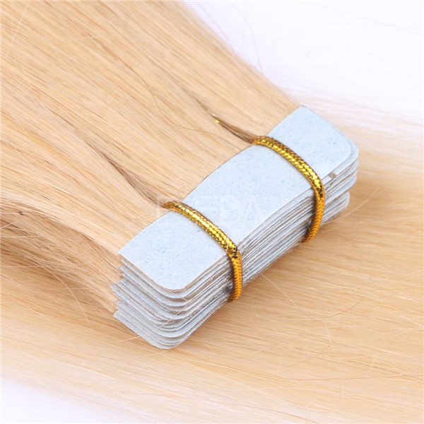 Human Hair Tape in Extensions LJ037