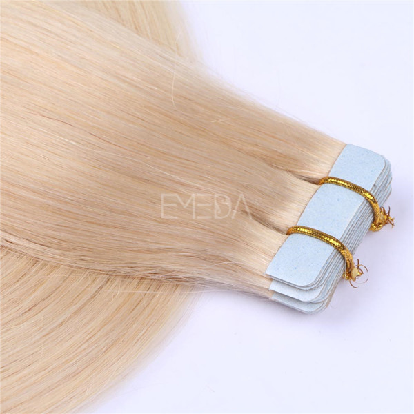 Blonde Tape in Extensions LJ111
