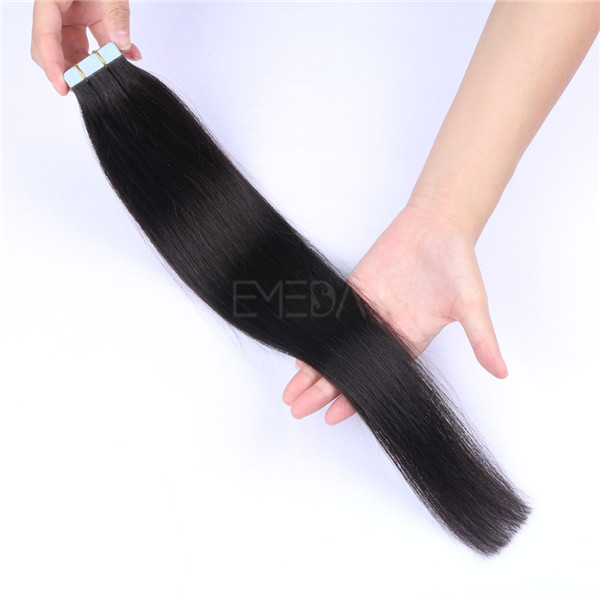 Emeda Tape Hair Are Tape in Extensions Good for Thin Hair LJ067
