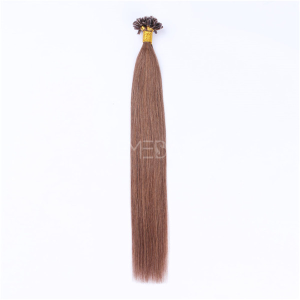U tip Hair Extensions How To Apply LJ191