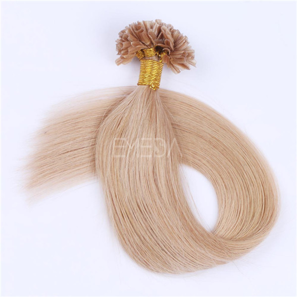 Pre tipped hair extensions for white women LJ127