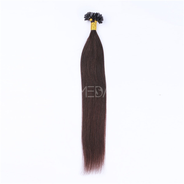 Human Hair I tip Extensions for white women market LJ194