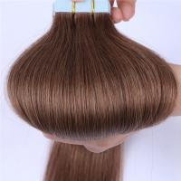 China double drawn russian tape in hair extensions suppliers QM010