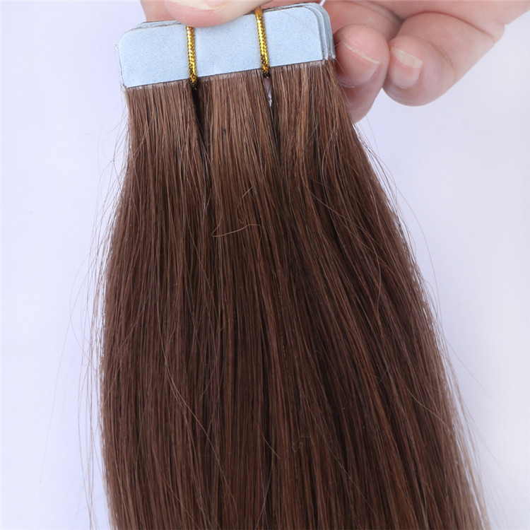 China double drawn tape in hair extensions factory wholesale QM158