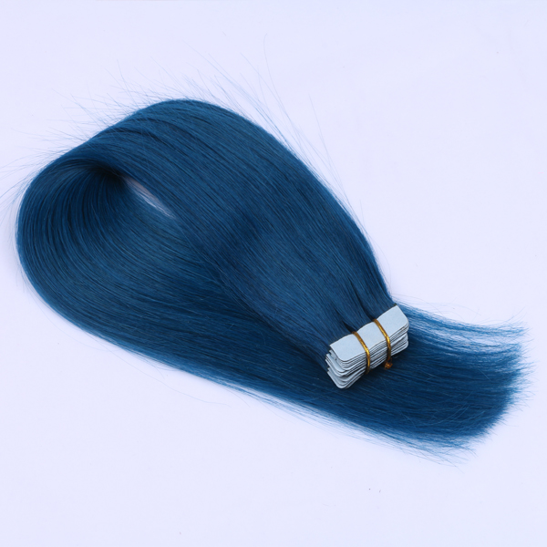 Tape in hair extensions for fine thin hair with strong tape long time last JF0255