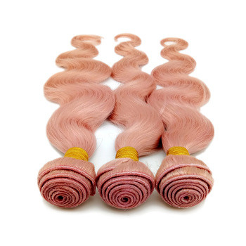 Cheap hair extensions manufacturers china human pink hair extension factory SJ006