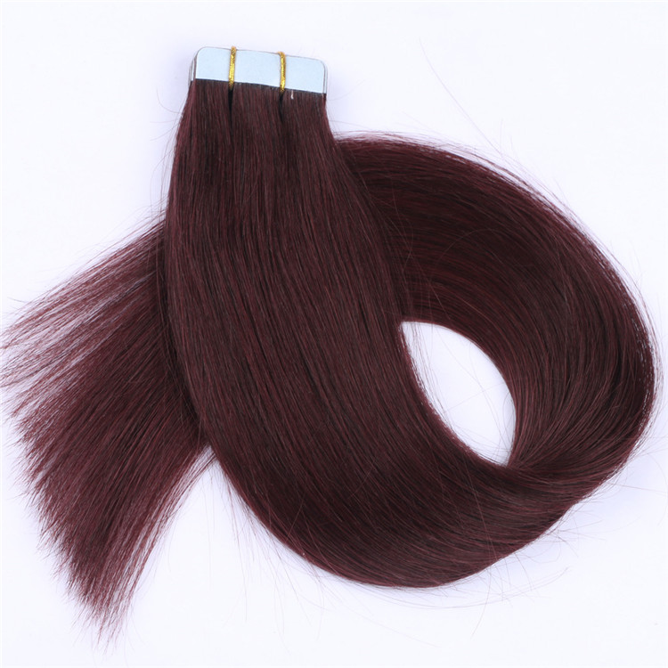 china remy micro tape in human hair extensions manufacturers QM091