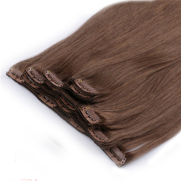 China clip in weave clips in human hair factory SJ0045