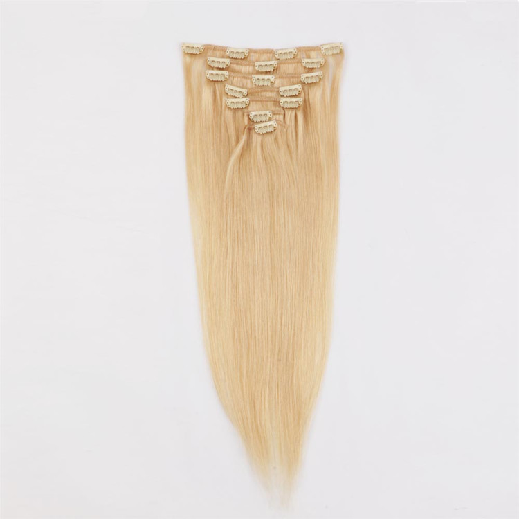 Wholesale china clip in hair extensions QM031