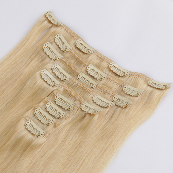cheap human hair extensions and clip hair extensions real hair extensions clip in JF280