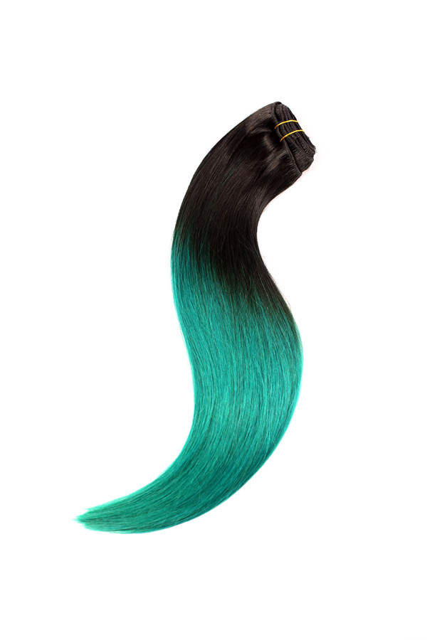 EMEDA clip in extensions human hair JF003