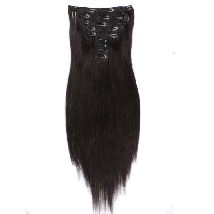 Clip in remy hair made in china wholesale hair extensions SJ0039