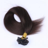China remy u tip human hair extensions suppliers QM052