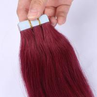 Tape in human hair extensions made in china SJ0042