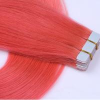 Tape in extensions manufacturers china double drawn tape hair extension SJ0055