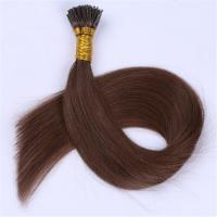 china Mini i tip human hair extensions factory QM042