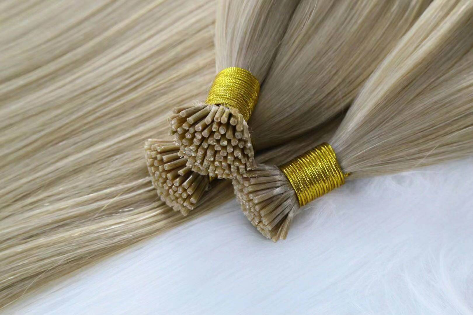 China factory price italy glue pre-bonded hair extensions QM252