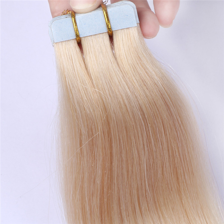 China Double Sided Adhesive Tape In Hair Extension Remy 40 Pieces