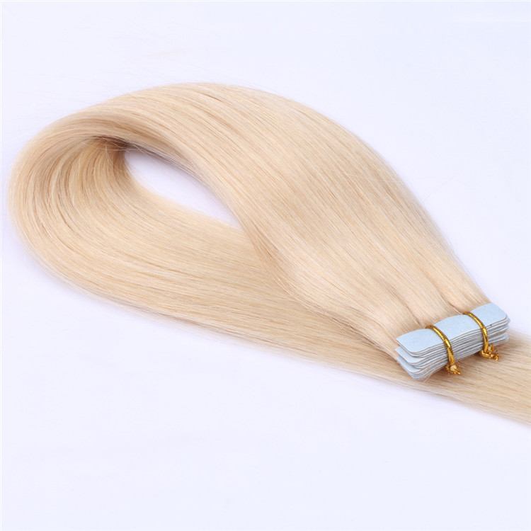 China double sided adhesive tape in hair extension remy 40 pieces manufacturers QM092