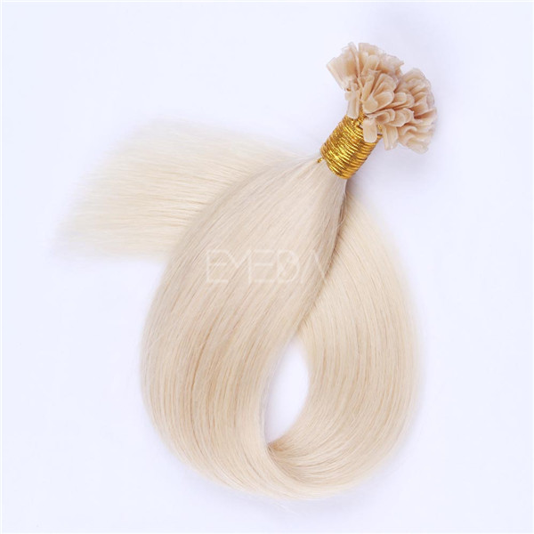 Pre bonded Hair extensiond UK market LJ129