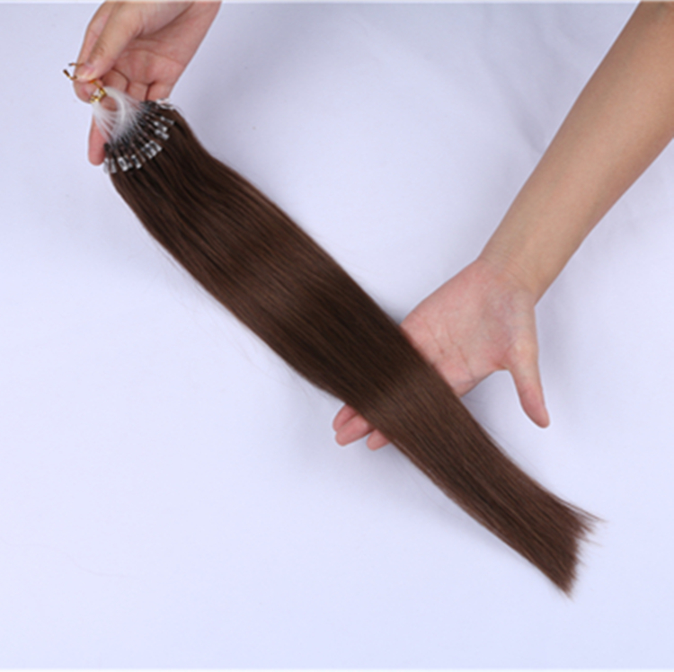 micro beads remy human hair extensions made in china QM070