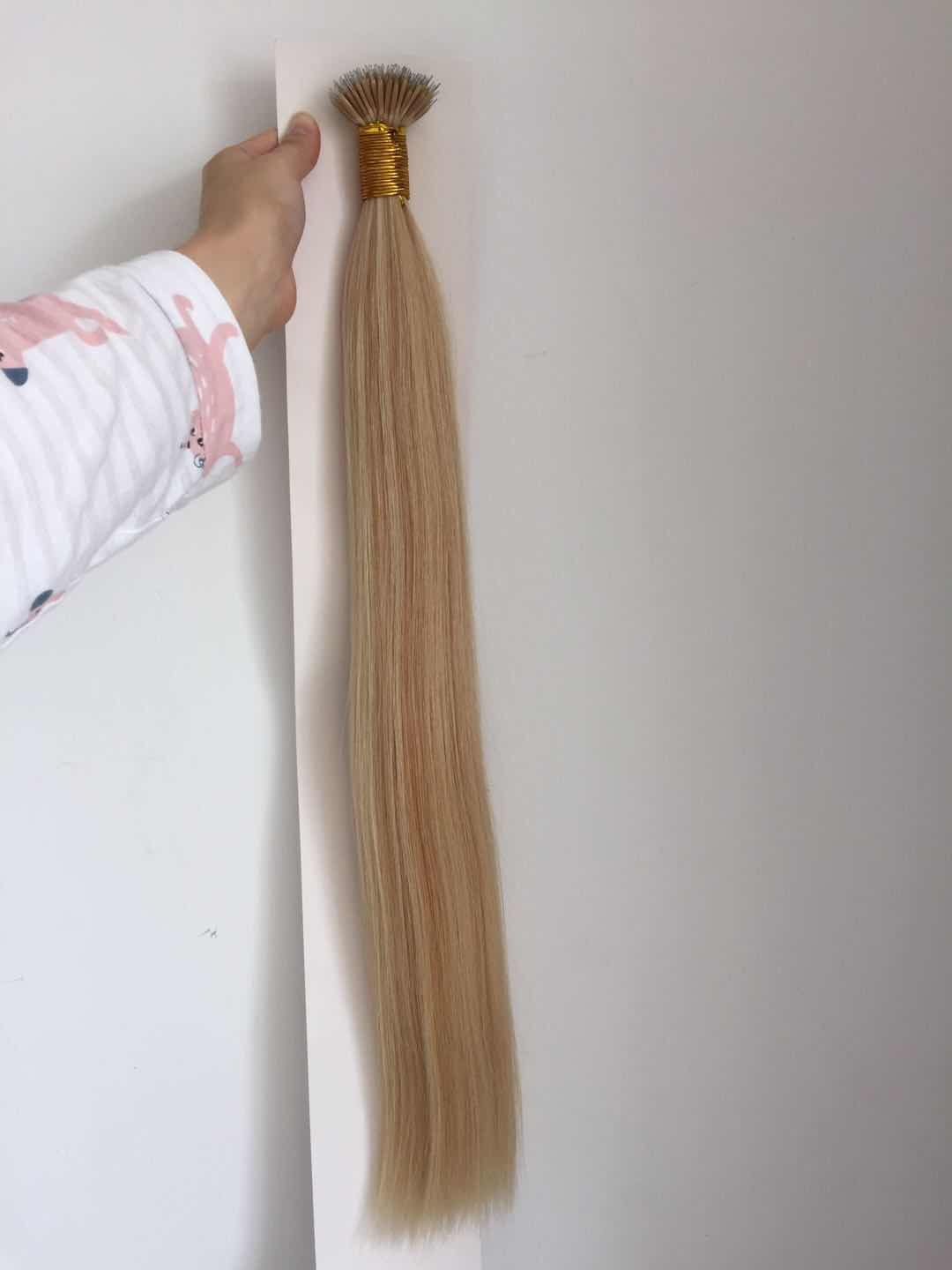 Wholesale i tip hair extensions factory QM212